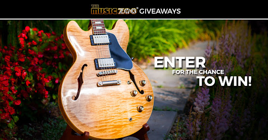 Enter to Win a Gibson Memphis ES-335 Hand Selected Figured Guitar!