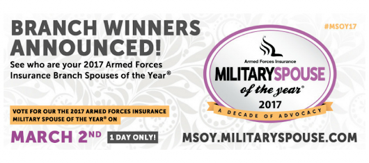 ★2017 AFI Branch Spouses of the Year★ | Military Spouse
