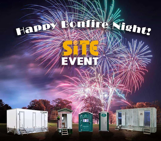 Happy Bonfire Night from Site Event! • Site Equip