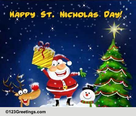 Jolly Good Time! Free St. Nicholas Day eCards, Greeting