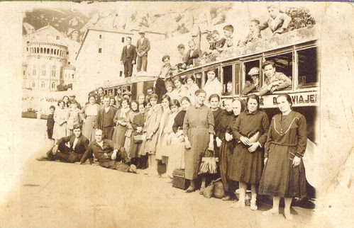 501 Cotxe de línia - Els d'Alpens van a Montserrat
