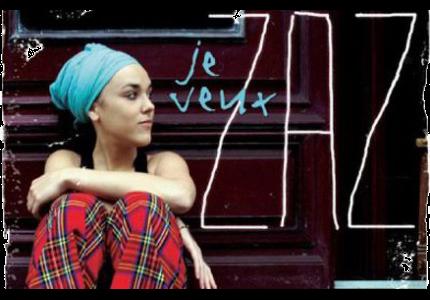 """Francuskie piosenki #6 - """"Je veux"""" - nagłówek - Francuski przy kawie"""