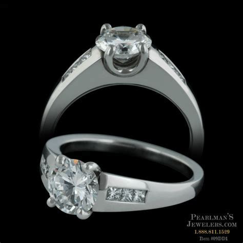 Small Madison engagement ring from Michael Bondanza, set i..
