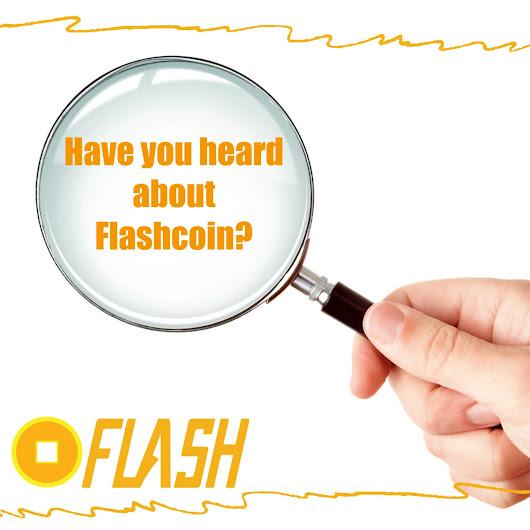 Have You Heard About Flashcoin? — Steemit