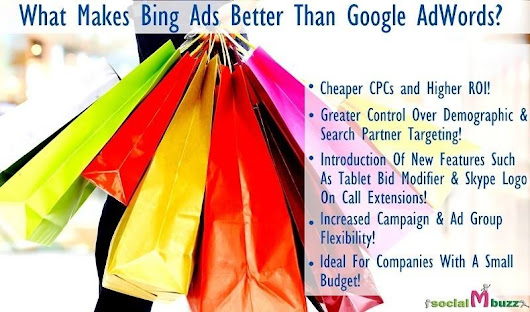 Bing Ads Vs Google Adwords - 5 Compelling Reasons | Socialmbuzz