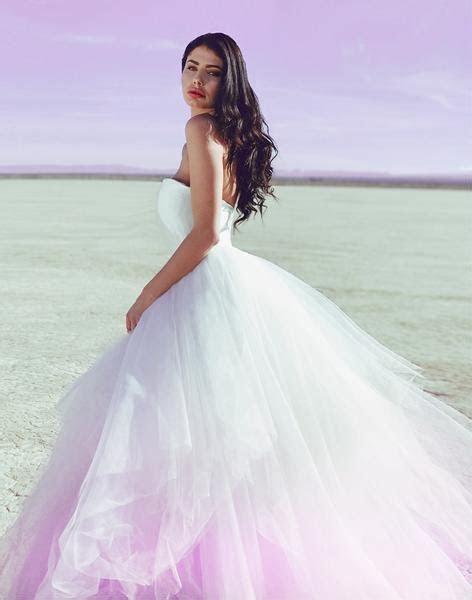 Lauren Elaine Aria   Customizable Pastel Ombré Colored