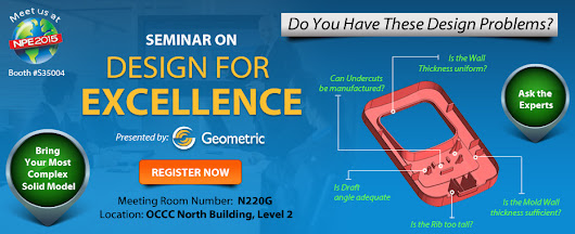 Design for Excellence Seminar Series at NPE 2015