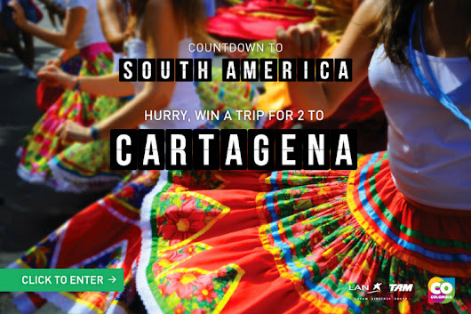 Win A Trip for Two to Historic Cartagena, Colombia with LAN Airlines | The Legendary Adventures of Anna