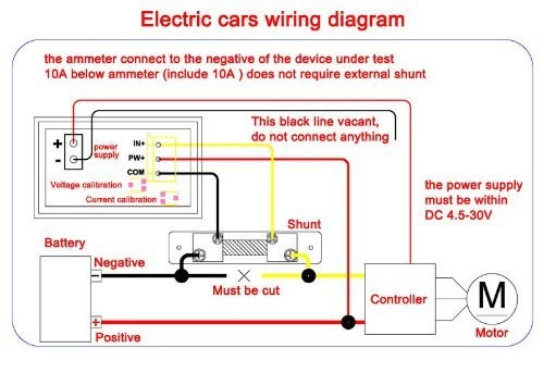 Voltage Meter Wiring Diagram