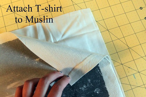 T-shirt to muslin