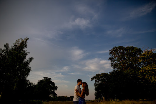 Richmond Park London Engagement Photography - Dalia and David -