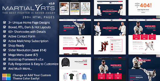 Karate Academy & Martial Arts Training HTML5 Template - Martial Arts - Theme88.Com – Free Premium Nulled Cracked Themes & Plugins & PHP Scripts and More