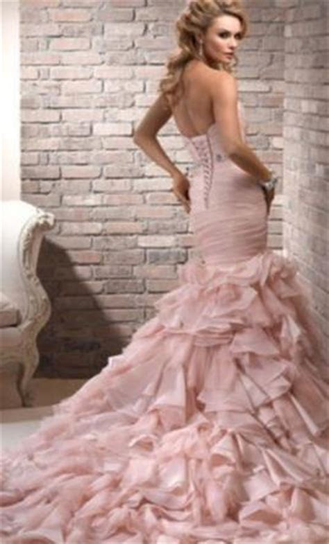 Maggie Sottero Divina Blush, $900 Size: 12   Used Wedding