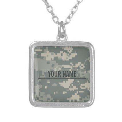 Army ACU Camouflage (Customizable) Custom Jewelry