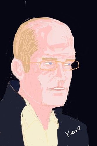 Chris Ware: iPhone drawing