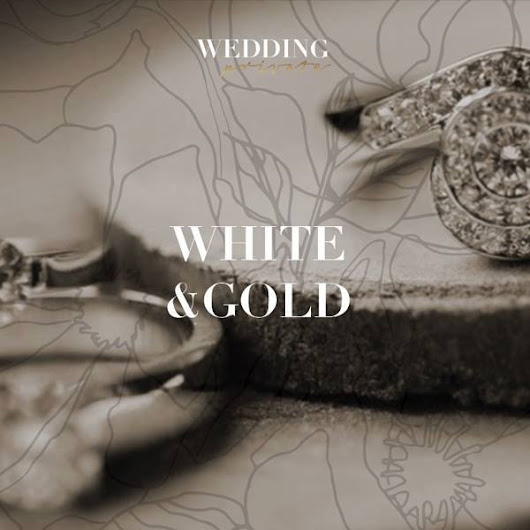 Wedding private | White And Gold