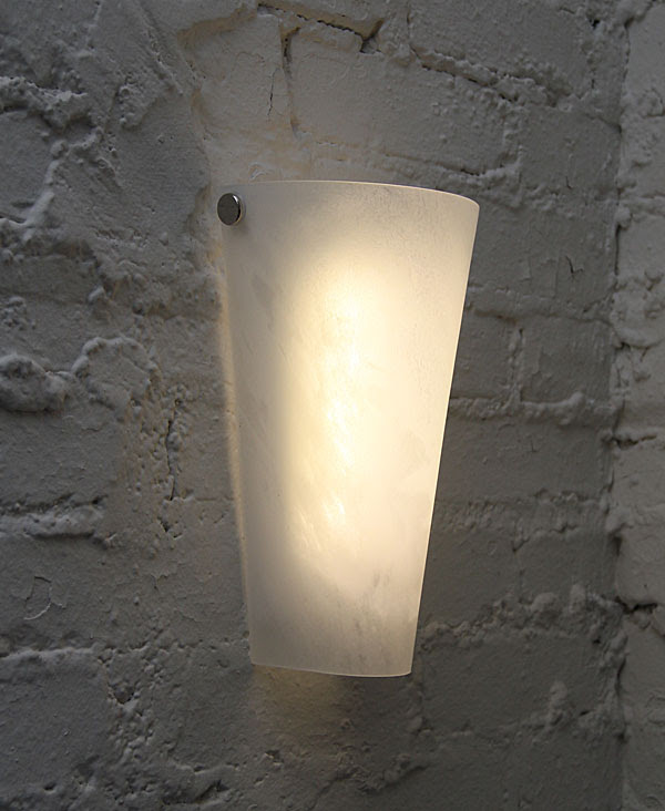 Battery Powered Wall Sconce White LED's -Waterproof - Buy Now