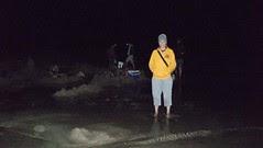 Hot Water Beach At Night