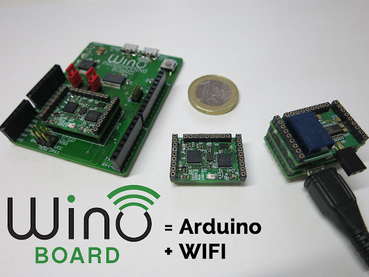 Wino board - The tiny, 10€ Arduino with WiFi! by IAN — Kickstarter
