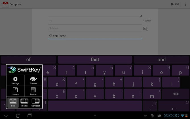 SwiftKey Revives Left-Handed Number Pad Option,