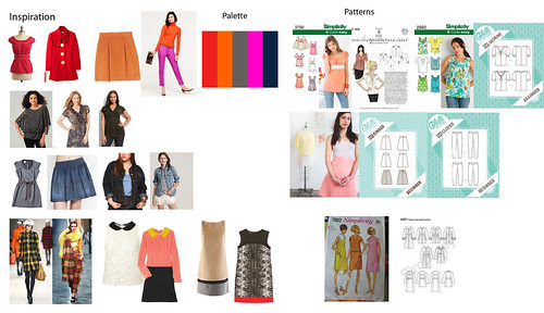 Colette Patterns Fall 2011 Sewing challenge