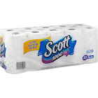 Scott 1000 One-Ply Bathroom Tissue, Unscented - 20 count