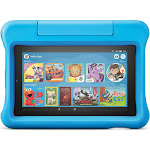 "Amazon - Fire 7 Kids Edition 2019 Release - 7"" - Tablet - 16GB - Blue"