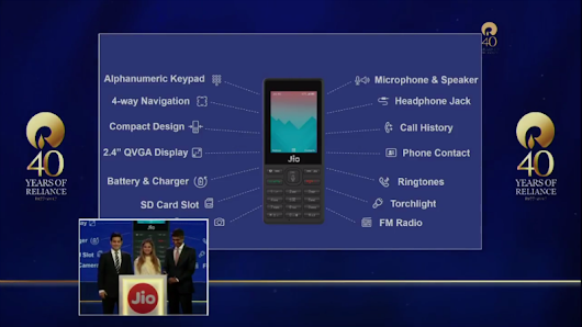 Reliance Jio : Price & Specifications
