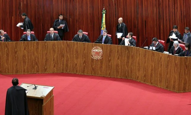 Tribunal Superior Eleitoral, plenário (Foto: Divulgação)