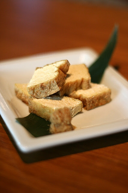 Atsuage Yaki - Grilled Dried Bean Curd