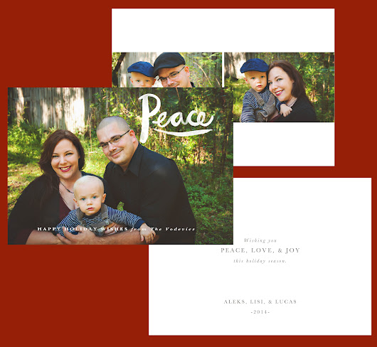 Holiday Greeting Card Ordering Time