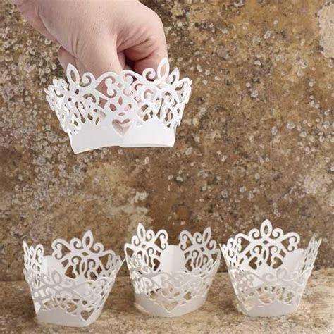 David Tutera Bridal Collection Laser Cut Cupcake Wraps