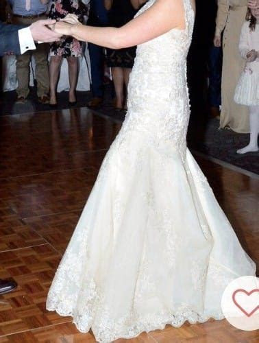 Backless gown & Veil   Sell My Wedding Dress Online   Sell