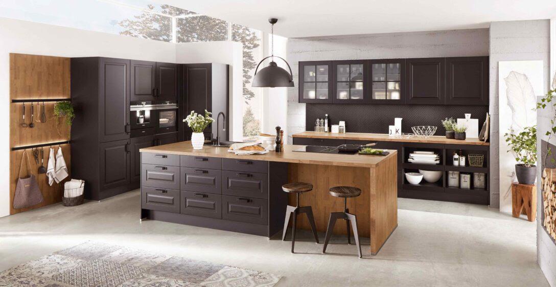 Landhausstil Kche Wei Und Grau Holz Armaturen Küche Ohne ...