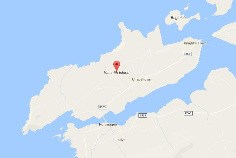 Map Of Valentia Island