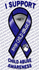 AWARENESS STOP CHILD ABUSE by maryfromlaurens