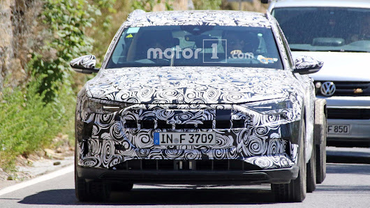 Audi E-Tron Quattro Electric Crossover Caught Testing in Europe - Motoraty