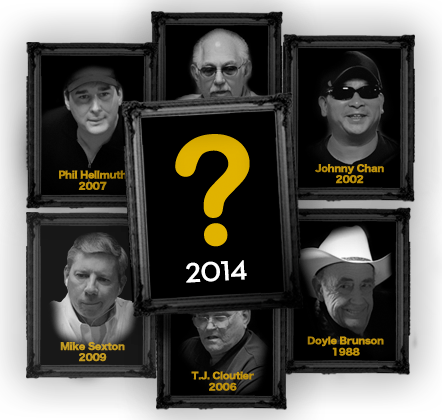 2014 Poker Hall of Fame Nominations
