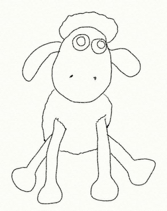 Coloriage Shaun Le Mouton Shaun Le Plus Malicieux Des Moutons 3