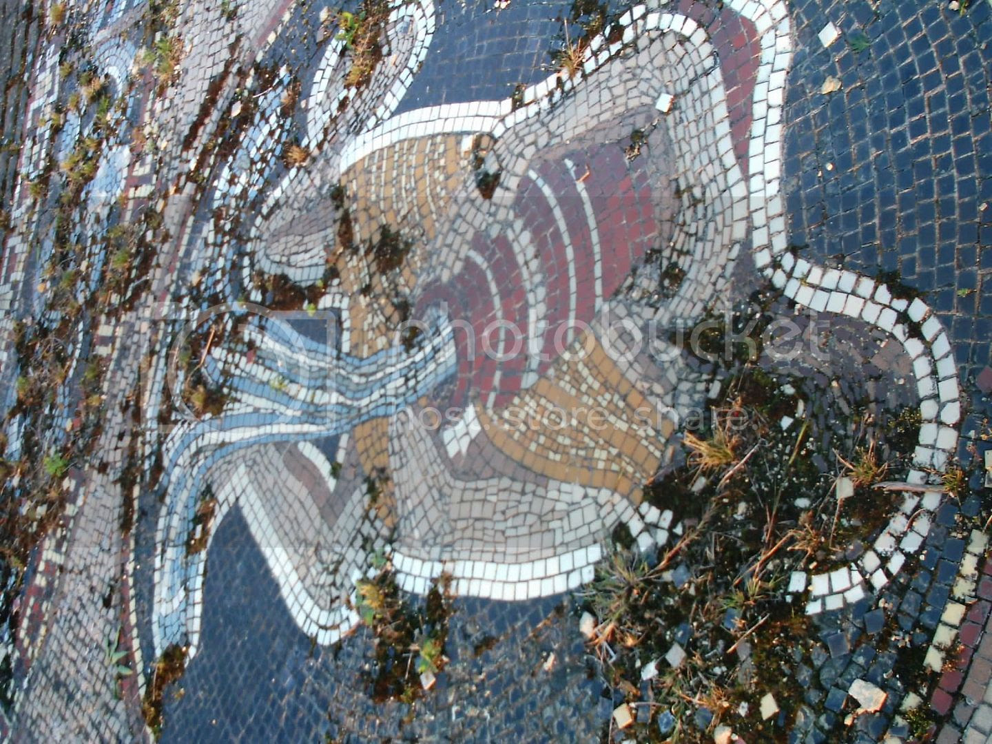 anyone know how to repair outdoor mosaics?