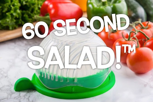 60 Second Salad Maker, salades in een handomdraai!