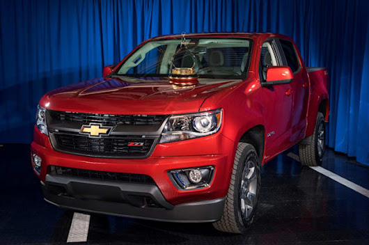 2015 Chevy Colorado takes Motor Trend Truck of the Year calipers [w/videos]