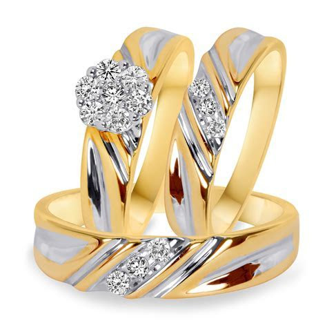 10K Yellow Gold   3/8 CT. T.W.   STYLE: BT508Y10K