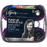 Goody Pump Up Your Style Self Holding Rollers - 31 count