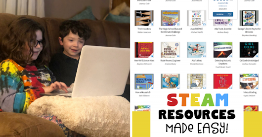 STEAM Resources for Parents Made Easy with hoopla Digital!