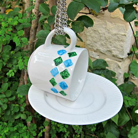 Tutorial: Tea Cup Bird Feeder » Dollar Store Crafts