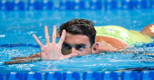 Michael Phelps headed to Rio, becomes first male swimmer to make five Olympics