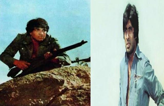 शूटिंग के सेट पर जब गुस्से में धर्मेंद्र ने चला दी थी असली गोली, चली जाती अमिताभ बच्चन की जान