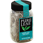 Pure Leaf Tea Bags Green Tea with Mint 16 ct