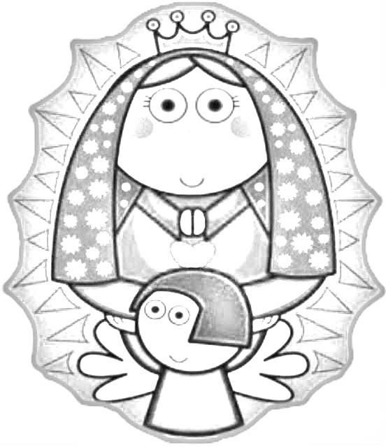 Virgen De Guadalupe Para Dibujar Agcrewall